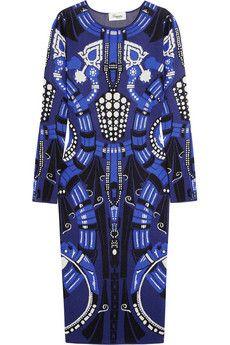 Temperley London Charm jacquard-knit dress   THE OUTNET