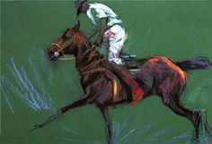 polo player art