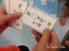 Fourth Grade Studio: Learning, Thinking, Creating: It's a New Concept Sort! Algebra Thinking