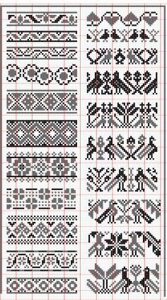Elegant fair isle knitting patterns no floss numbers, but will be fun to mix and match colors. HUNSCMH - Crochet and Knit , Elegant fair isle knitting patterns no floss numbers, but will be . Fair Isle Knitting Patterns, Fair Isle Pattern, Knitting Charts, Knitting Stitches, Free Knitting, Knitting Ideas, Knitting Machine, Double Knitting, Knitting Projects