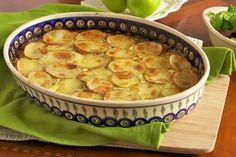 Preparation of Moussaka - Traditional Mediterranean Recipe - Moussaka with Potato