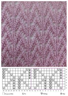 Knitting Room, Lace Knitting Stitches, Lace Knitting Patterns, Knitting Charts, Knitting Designs, Knitting Projects, Stitch Patterns, Knit Crochet, Knitting Patterns