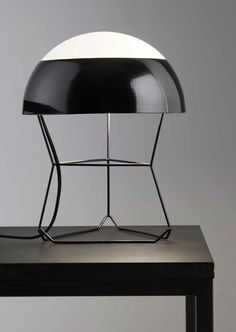 Direct-indirect light table lamp DOM by Forestier