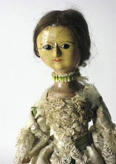 N e e d l e p r i n t: Brightwells Auction * 9 January 2013 - Georgian carved and turned wooden English doll