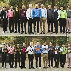 This would be so cute as a groom's men idea!