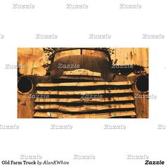 Old Farm Truck Canvas Print