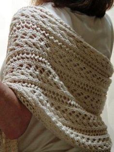 Gorgeous! Free Pattern: Wrap by Katherine Fagan.