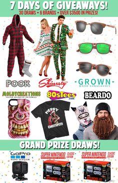 30 prizes including a GoPro & 2 x SNES Classics!  Yes Please! @beardowear    https://wn.nr/zNE8RB