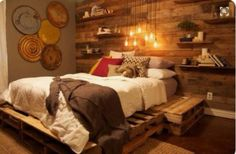 fine 38 Rustic and Vintage Cedar Headboard Ideas