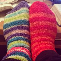 Mismatching fuzzy socks are the best :) Christmas Presents For Babies, Christmas Baby, Fluffy Socks, Fun Socks, Girls Socks, Pajama Party, Kara, Leg Warmers, Mittens