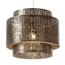 Endon Lighting Round Non Electric Pendant Light in Bronze – Next Day Delivery Endon Lighting Round Non Electric Pendant Light in Bronze from WorldStores: Everything For The Home Gold Lamp Shades, Ceiling Light Shades, Ceiling Lights, Ceiling Pendant, Pendant Lighting, Drum Pendant, Lighting Uk, Bronze Pendant, Light Pendant