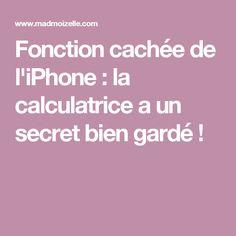Fonction cachée de l'iPhone : la calculatrice a un secret bien gardé ! Iphone Hacks, Ted, Calculus, Computer Science