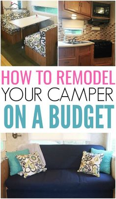 Our Camper Remodel - Organization Obsessed