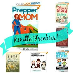 12 Free Kindle Books: Confessions of A Prepper Mom, 50 Christmas Dinner Recipes, + More!