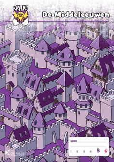 Krak! - aanbod wiskunde/rekenen voor hoogbegaafde leerlingen in het lager onderwijs – themabundels – gratis inzage - De Middeleeuwen - 5e en 6e leerjaar