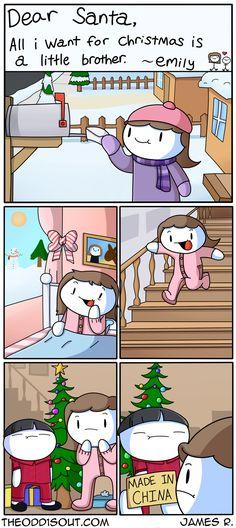 Theodd1sout :: Christmas Miracle | Tapastic Comics - image 1