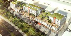 Cergy-Pontoise, Résidence pour étudiants - Cergy-Pontoise - Hamonic + Masson…