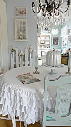 For the love of white....just love the colors maybe vintage area