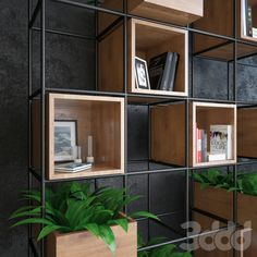 3d модели: Другие предметы интерьера - Iron shelf