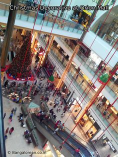 Orion mall christmas decorative