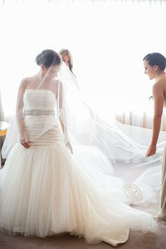 Wedding Gown by Isaac Mizrahi  -- real Wedding on www.StyleMePretty... Lilian Haidar Photography - lilianhaidar.com - http://www.hireevents.co.uk/wedding-gown-by-isaac-mizrahi-real-wedding-on-www-stylemepretty-lilian-haidar-photography-lilianhaidar-com/