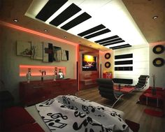 20 Best Music bedroom themes images | Music bedroom, Bedroom ...