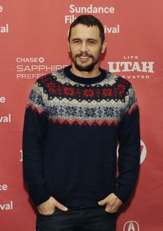 """James Franco, a cast member in """"I Am Michael,"""" poses at the premiere of the film at the Eccles Theatre during the 2015 Sundance Film Festival on Thursday, Ja..."""