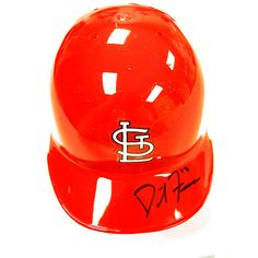 St. Louis Cardinals David Freese Autographed Mini Batting Helmet