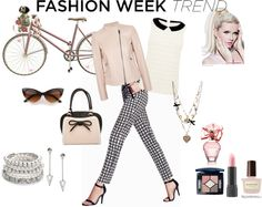 """""""Pink Posh Fashion Trend"""" by gracehands on Polyvore"""