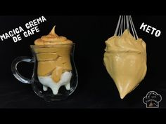"""Make magic with the coffee in just 3 minutes """"Magic cream of coffee"""" Delicious Desserts, Dessert Recipes, Yummy Food, Creme, Cake Cafe, Queso Cheese, Funny Cake, Cake Fillings, Puddings"""