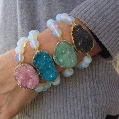 Love These! Druzy Bracelets - 4 Colors - Save 84%