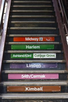 stair subway love