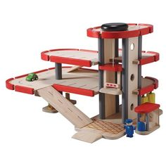 Plan Toys Wooden Parking Garage