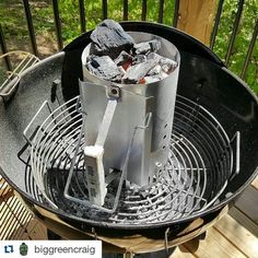 "Thanks for sharing the love @biggreencraig Kick Ash Basket helping out our Weber Friends too!!!  #Repost @biggreencraig with @repostapp  The XL BGE Kick Ash Basket fits perfectly inside the 22"" kettle. Make your life easier.  ___________________________________________________ #kickashbasket #fogolumpcharcoal #weber #grill #smoke #webergrill #webernation by kickashbasket"
