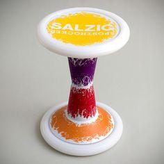 SH2 Six Colours | Sporthocker | SALZIG #salzig #sporthocker #cool #stool #sixcolours #design #sport