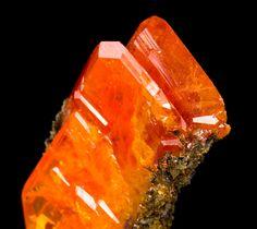 Wulfenite crystals / Red Cloud Mine, Arizona