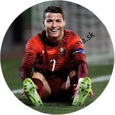 Ronaldo - jedlý obrázok kruh Ø 21