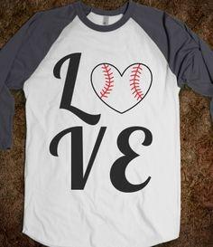 LOVE Quad (Gray Baseball Sleeves)