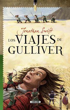Lemuel Gulliver estudió para médico, pero le fascinaban los viajes. Un día se embarcó con el capitán Prichard, se produjo una terrible tempestad y el barco se estrelló contra las rocas. Gulliver logró salvarse y llegar a tierra firme donde se dejó caer rendido en la playa de un país desconocido. Despertó y sus brazos, piernas y cabellos estaban atados a la arena. Sólo podía mirar al cielo, oía un gran bullicio y se asustó al sentir algo que le subía por el cuerpo…
