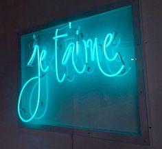 Je t'aime | neon. Neon Art//Neon LOVE!!