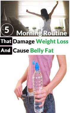 5 Morning Routine that Damage Weight Loss and Cause Belly Fat