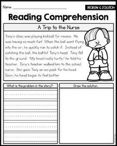 Problem And Solution Reading Passages Great For Intervention And