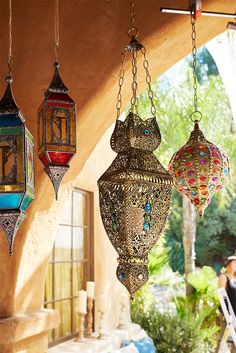 Brilliant lanterns: Scrolled metal, paned glass and filigreed frames. Pier 1's unique assortment gives you a lighting option for every space and brings a sense of the exotic home.
