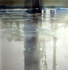 Xavier Swolfs: aquarel