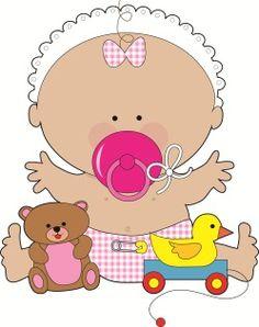 Imagenes baby shower nina para imprimir