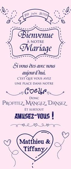 Welcome poster and roll up - Décoration mariage - marriage Wedding Welcome Table, Wedding Reception On A Budget, Wedding Table, Reception Checklist, Wedding Signs, Diy Wedding, Wedding Day, Wedding Beach, Design Room