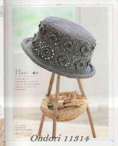 ISSUU - Crochet with motifs by vlinderieke Crochet Summer Hats, Crochet Hat For Women, Crochet Baby Beanie, Crochet Cap, Crochet Cross, Crochet Motif, Crochet Patterns, Crochet Purses, Crochet Accessories