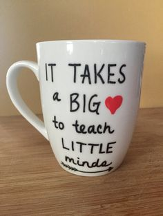 teacher mug paraprofessional mug preschool teacher mug 15 oz mug
