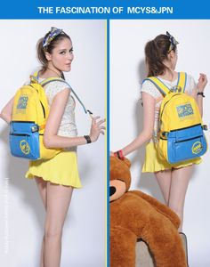 New 2013 Printing Backpack Canvas Student School Bag also for Travel Sport Many Colors Dropshipping Support