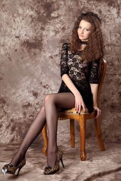 Teens in Nylons Sexy Outfits, Sexy Dresses, Nice Dresses, Girl Outfits, Nylons, Black Pantyhose, Mini Skirt Dress, Sexy Teens, Poses